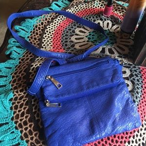 Liz Claiborne soft leather  crossbody bag